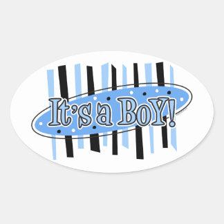 Jackpot It s A Boy Sticker