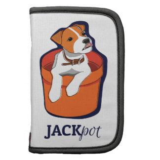 """Jackpot"" Jack Russell Folio Folio Planners"