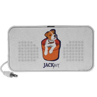 """Jackpot"" Jack Russell Terrier Speaker"