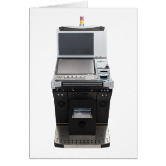 Jackpot machine card