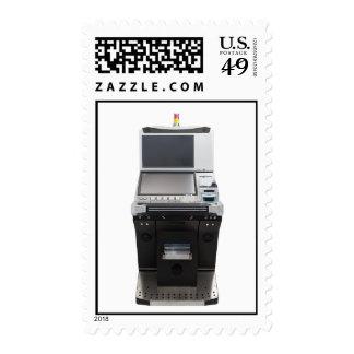 Jackpot machine stamps