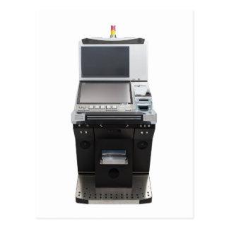 Jackpot machine postcard