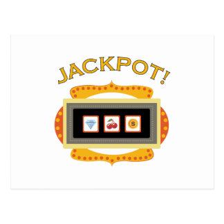 Jackpot! Postcard