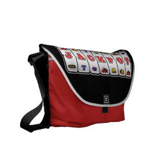 Jackpot Slot Machine Bag (dark) Messenger Bags