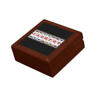 Jackpot Slot Machine Gift Box dark