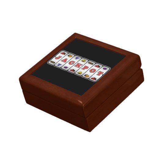 Jackpot Slot Machine Gift Box (dark)