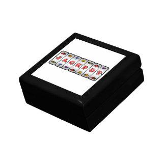 Jackpot Slot Machine Gift Box light