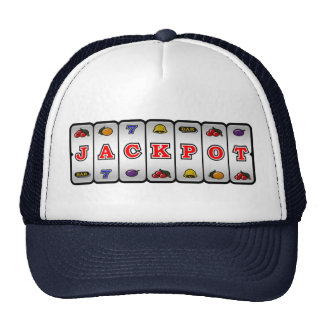 Jackpot Slot Machine Hat