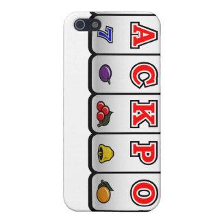 Jackpot Slot Machine iPhone Case (light) iPhone 5 Cover