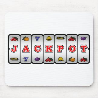 Jackpot Slot Machine Mousepad (light)