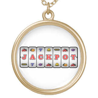 Jackpot Slot Machine Necklace (light)
