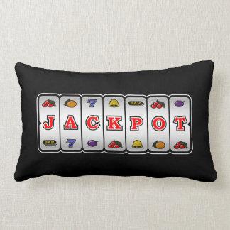 Jackpot Slot Machine Pillow (inverse)