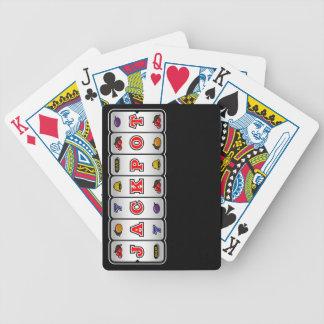 Jackpot Slot Machine Playing Cards (dark) Bicycle Playing Cards