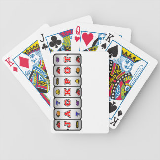 Jackpot Slot Machine Playing Cards (light) Bicycle Playing Cards