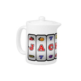 Jackpot Slot Machine Teapot