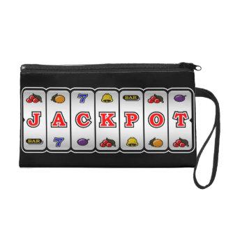 Jackpot Slot Machine Wristlet (dark)