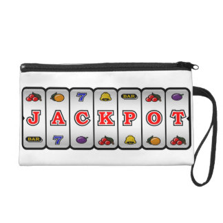 Jackpot Slot Machine Wristlet (light)