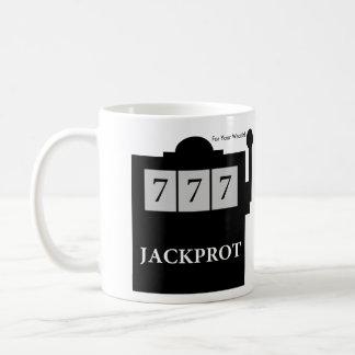 ¡Jackprot! El Dr. Steve Brule Mug de la máquina Taza De Café