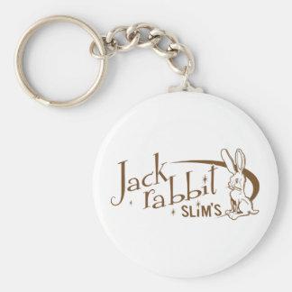 Jackrabbit slims pulp fiction basic round button keychain