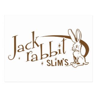 Jackrabbit slims pulp fiction post card