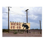 Jackrabbit Trading Post Route 66 Post Card