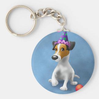 JackRussel Terrier birthday Keychain
