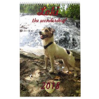 Jackrussell calendar