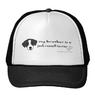 JackRussellBlkBrother Trucker Hat
