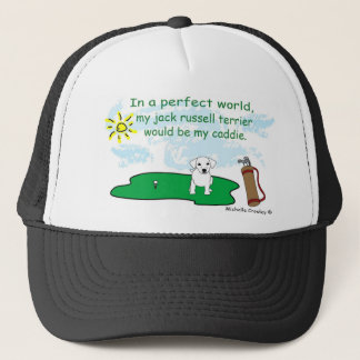 JackRussellWt Trucker Hat