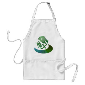 Jacks and Ball Retro Baby Boomer Toy Apron