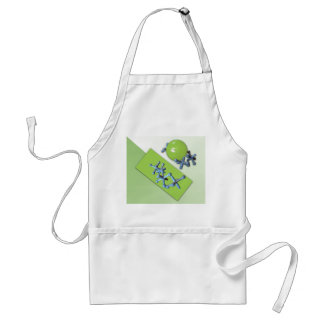 Jacks and Ball Set Lime Green Classic Toy Apron