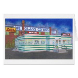 Jack's Diner Card