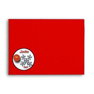 Jacks Game For Kids Envelope