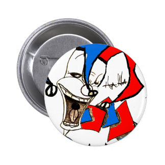 Jacks in the Box (Clown Sketch) Pinback Buttons