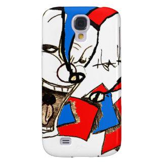 Jacks in the Box (Clown Sketch) Samsung Galaxy S4 Cases