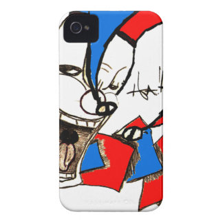 Jacks in the Box (Clown Sketch) Case-Mate iPhone 4 Case