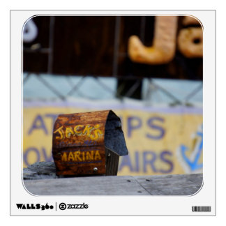 Jack's Marina Wall Decal