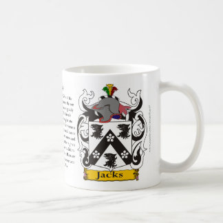 Jacks the Origin, the Meaning and the Crest Coffee Mug
