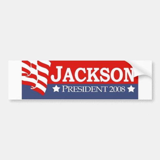 Jackson 2008 etiqueta de parachoque