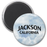 Jackson California Imán Redondo 5 Cm