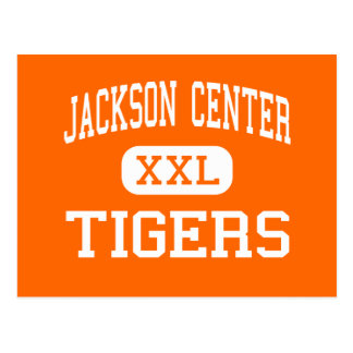 Jackson Center - Tigers - High - Jackson Center Postcard