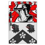 Jackson Coat of Arms Dry Erase Whiteboards