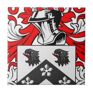 Jackson Coat of Arms Tile