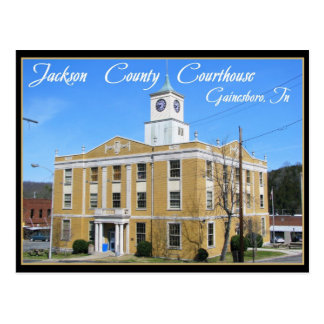Jackson County Courthouse - Gainesboro, TN Postcard