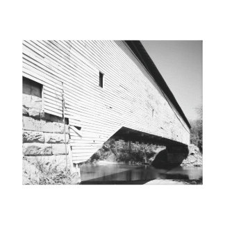 Jackson Covered Bridge Stretched Canvas Prints