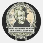 Jackson End the Fed Stickers Set