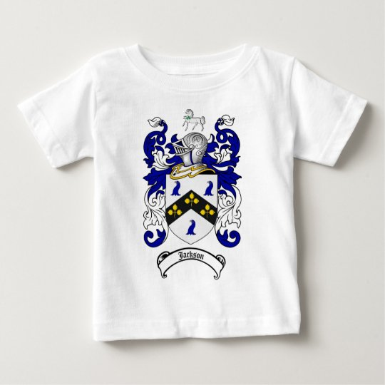 JACKSON FAMILY CREST -  JACKSON COAT OF ARMS BABY T-Shirt