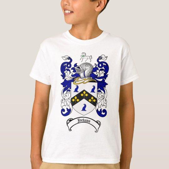 JACKSON FAMILY CREST -  JACKSON COAT OF ARMS T-Shirt
