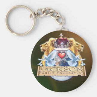 Jackson Family Crest Keychain