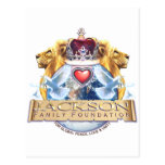 Jackson Family Crest Post Cards